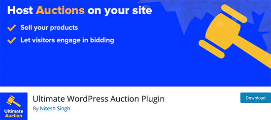 ultimate-auctions-wordpress